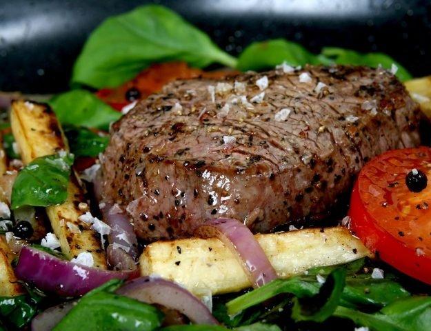 Sirloin Steak With Garlic Butter