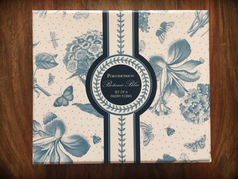 Review & Giveaway: Portmeirion Botanic Blue Pastry Forks