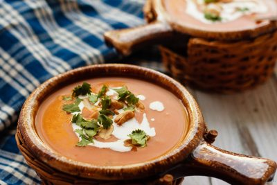 Our Ultimate Autumn Pumpkin Soup With Mascarpone