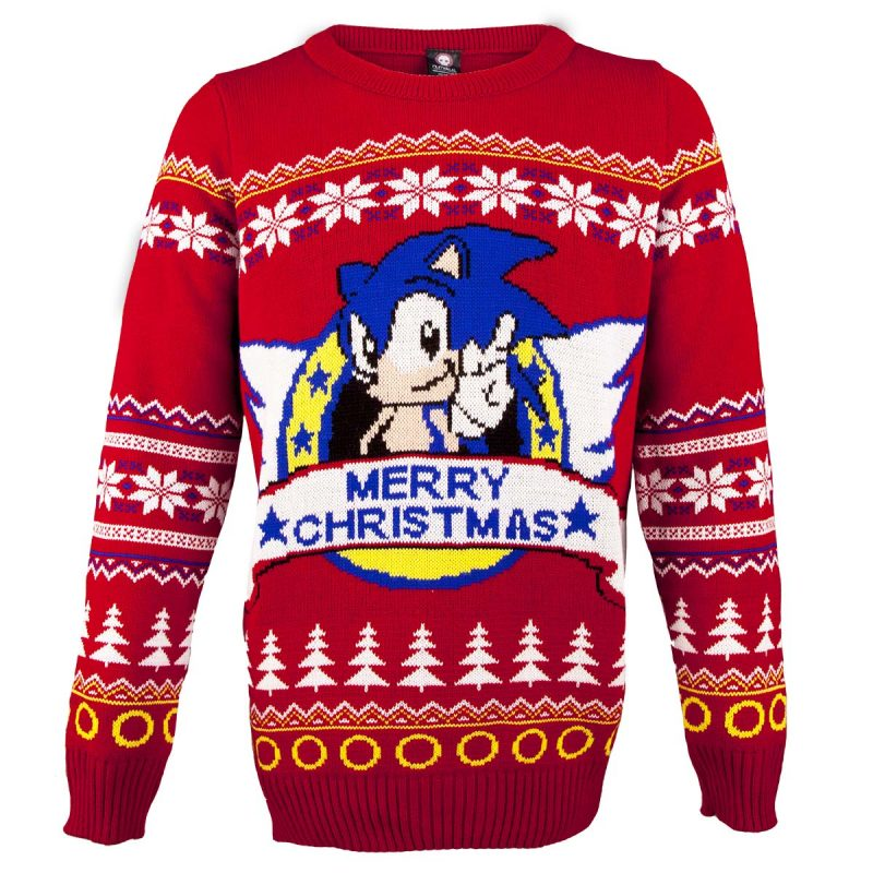 Sonic Official Christmas Jumper