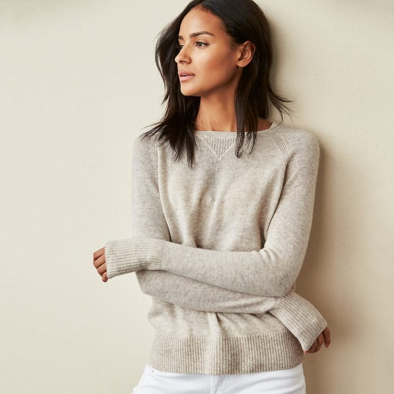 Cashmere Jumper, £119, The White Company