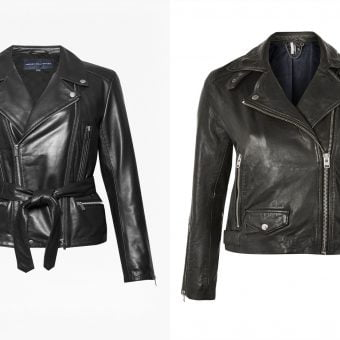 The Best Leather Biker Jackets on The High Street