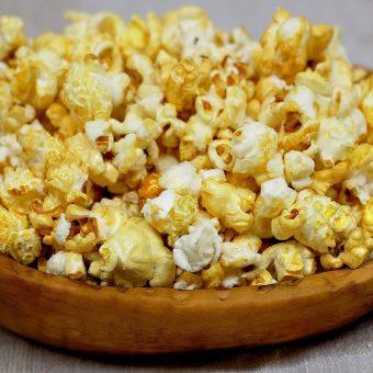Honey & Hot Sauce Popcorn Crunch