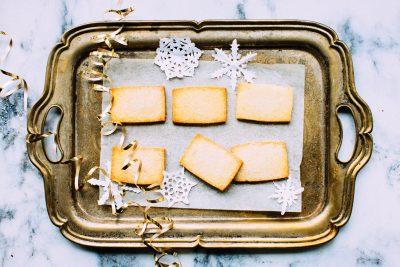 Freezer Friendly: Super Easy Homemade Shortbread