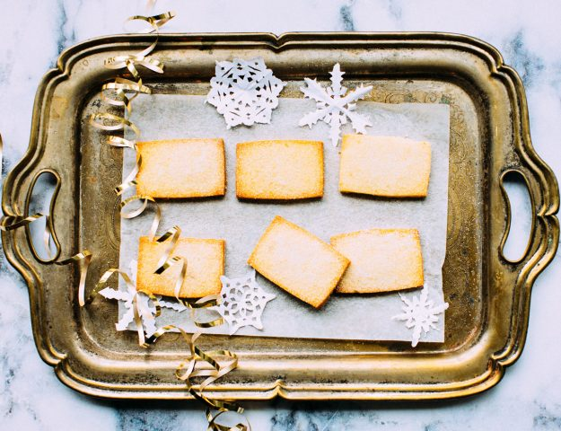 Freezer Friendly: Super Easy Homemade Shortbread