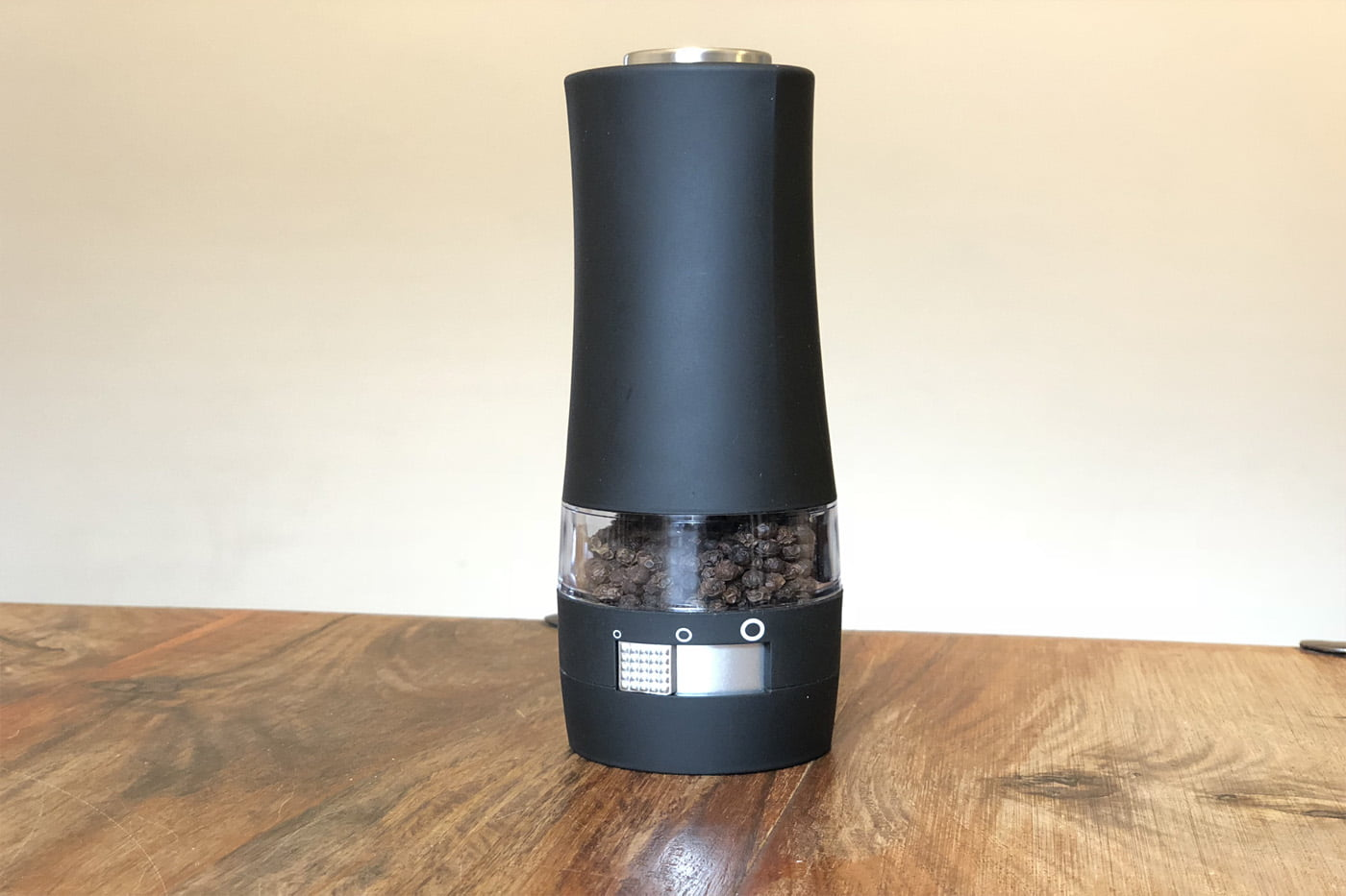 Ozeri Savore Soft Touch Electric Pepper Mill & Grinder