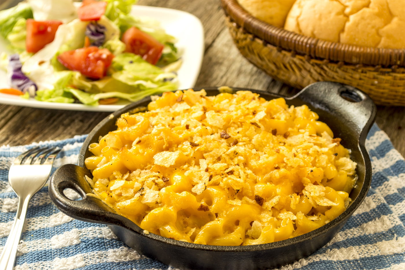Delicious New Year's Eve Mac and Cheese