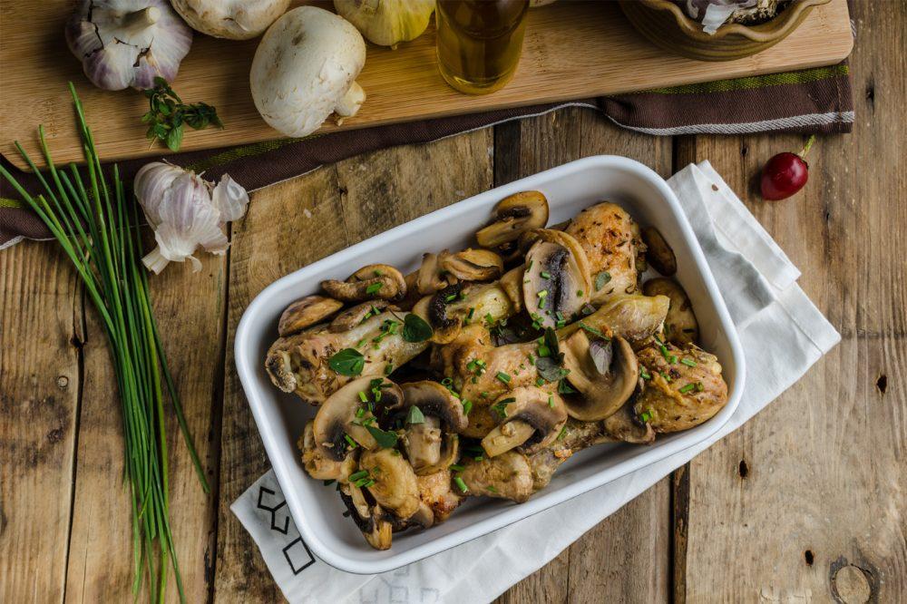 500 Calories or Less: Chicken & Mushroom Casserole