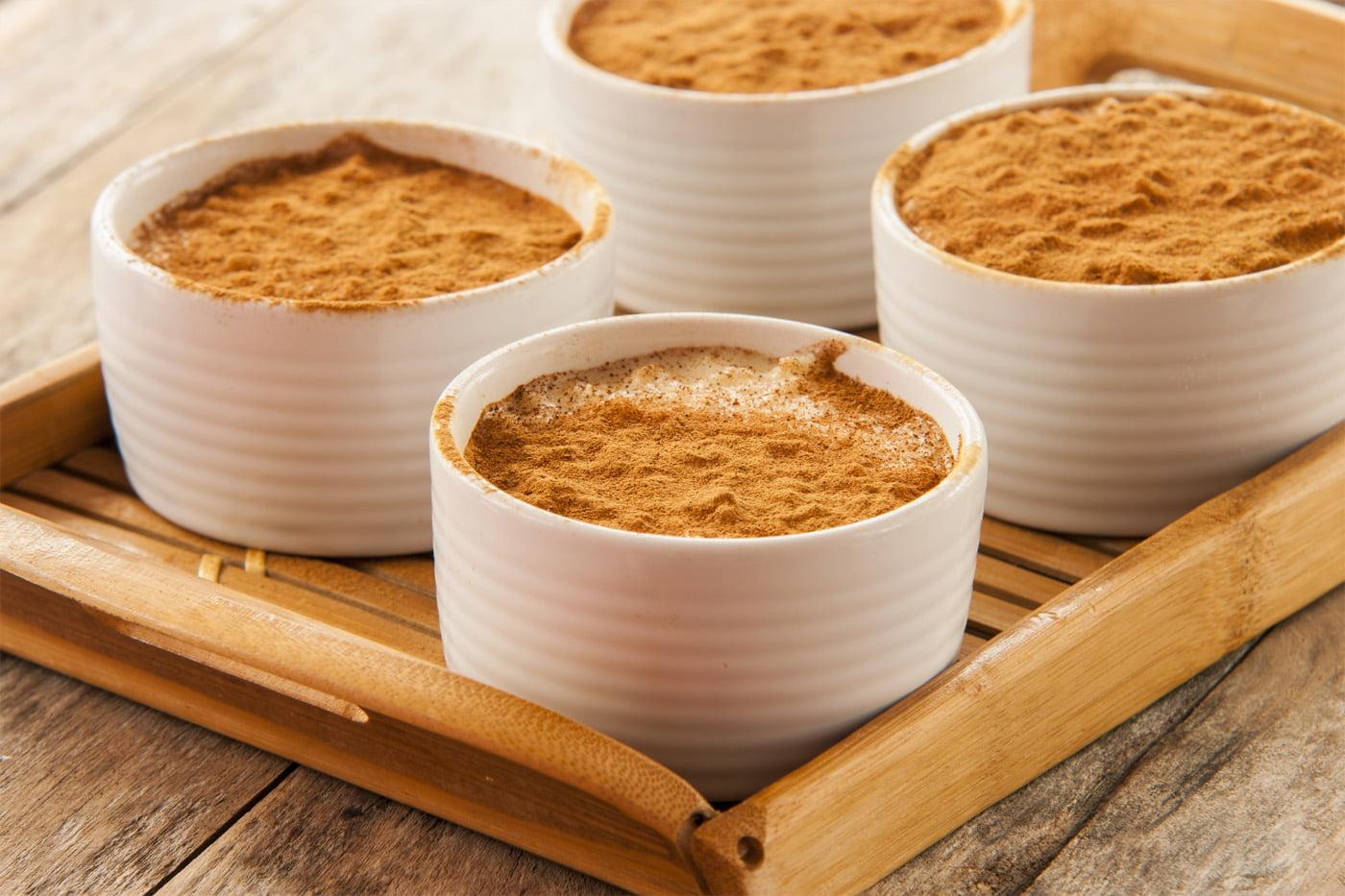 Cinnamon Sugar Porridge with Cream Cheese Glaze