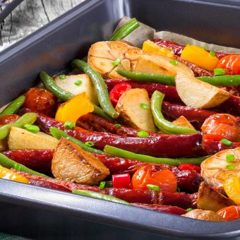500 Calories or Less: Easy Sausage Casserole