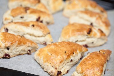 Simple & Delicious Pomegranate Scones