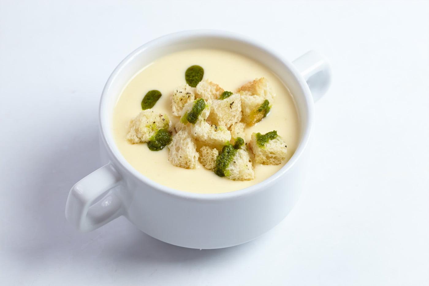 Dairy Free Parsnip & Lemon Soup