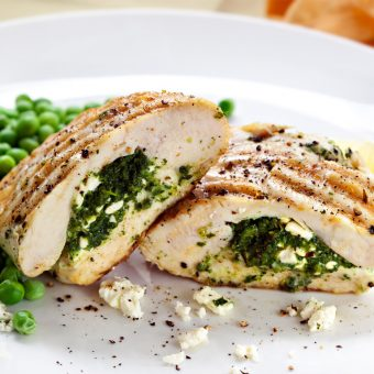 500 Calories or Less: Spicy Stuffed Chicken Breast With Rice