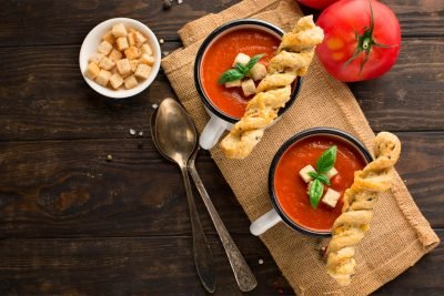 Classic Homemade Tomato & Chilli Soup