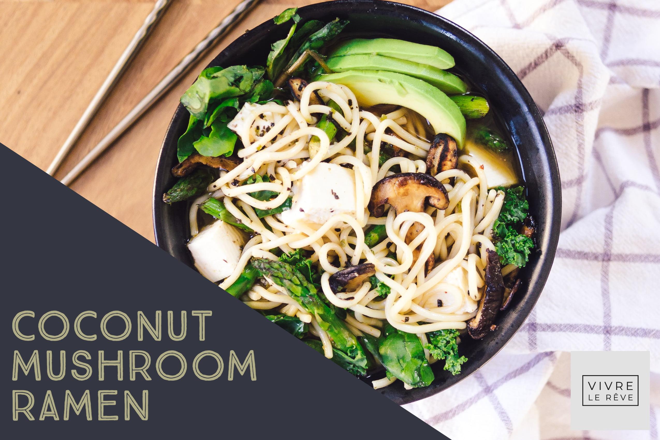 Coconut Mushroom Ramen