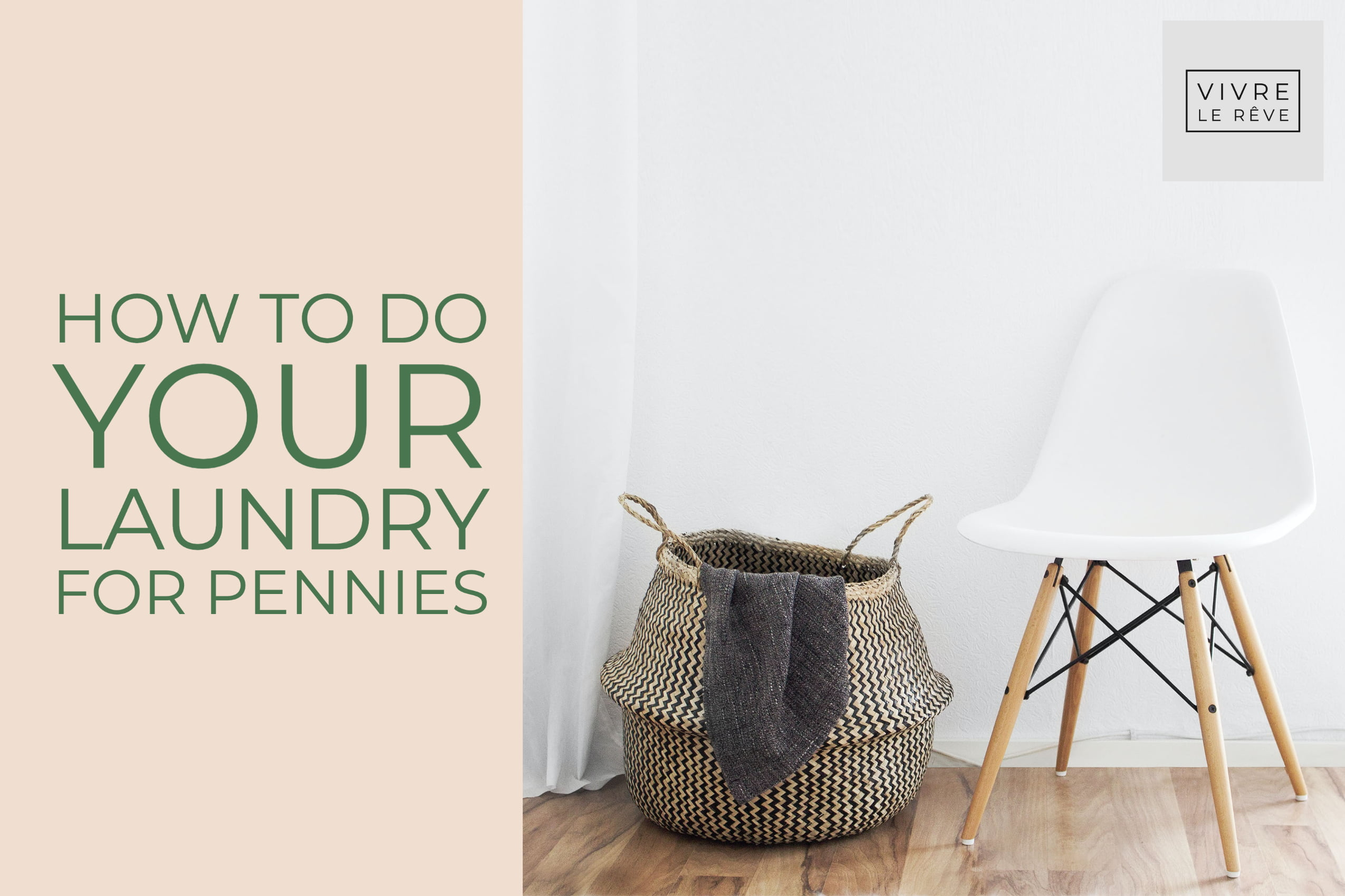How to Do Your Laundry For Pennies