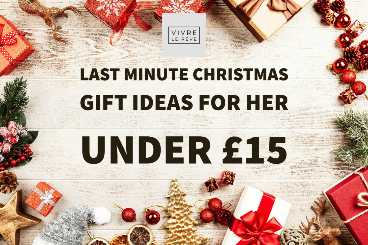 Last Minute Christmas Gift Ideas for Her Under £15