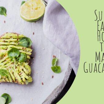 Super Easy How to Make Guacamole